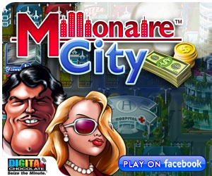 Play Millionaire City on Facebook!
